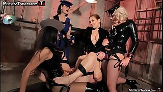 Female dom gang bang 4 gorgeous Dommes
