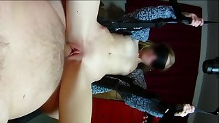 SomeGirth - Super Thick Cock Tries Long Range Vagina Ramming and other Sex Swing Antics
