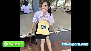 น้อง นุ่นลลดา สาวนักเรียน ลูกเจ้าของห้างดัง กรุงเทพฯ