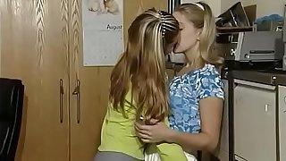 Lesbian Blonde