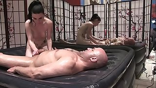 Veruca James Gives Erotic Oil Body Rub
