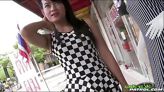 Tuk Tuk Patrol - Thai cutie gets her asshole reamed by white shaft